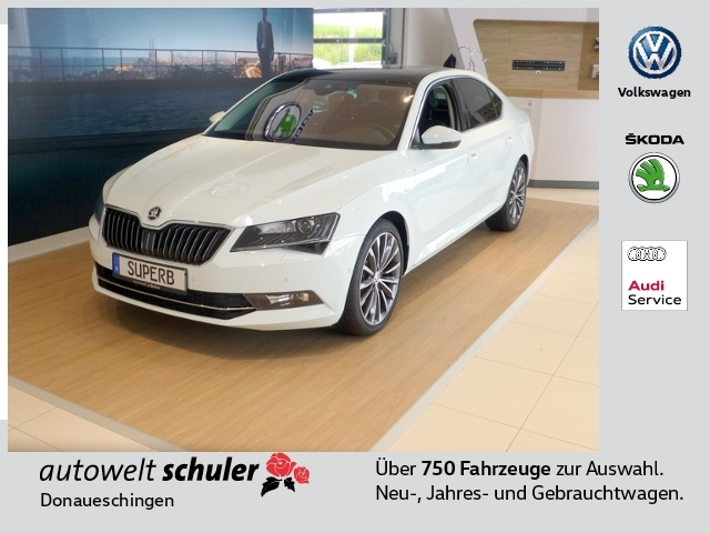 skoda superb iii 2 0 tdi dsg l k. Black Bedroom Furniture Sets. Home Design Ideas