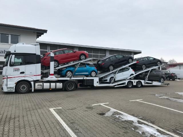 ANDERE Autotransporter 6er Zug EBS|BPW|Winde