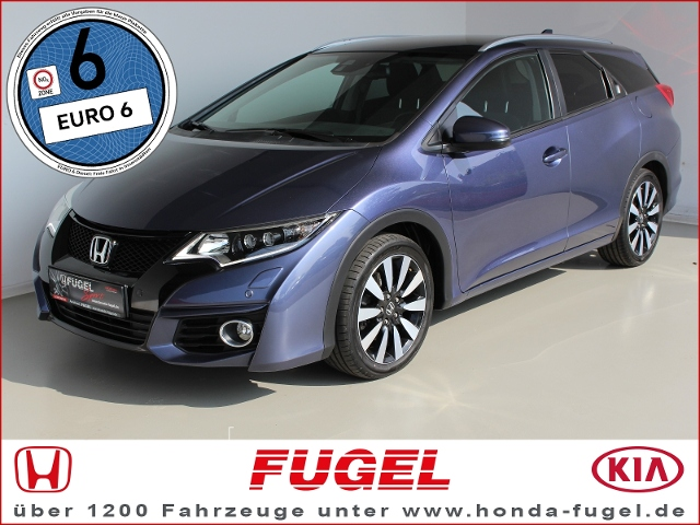 Honda Civic Tourer 1.6 Lifestyle DAB|LED|Klima