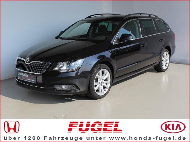 Skoda Superb Combi 2.0 TDI Exclusive Xen.|Navi