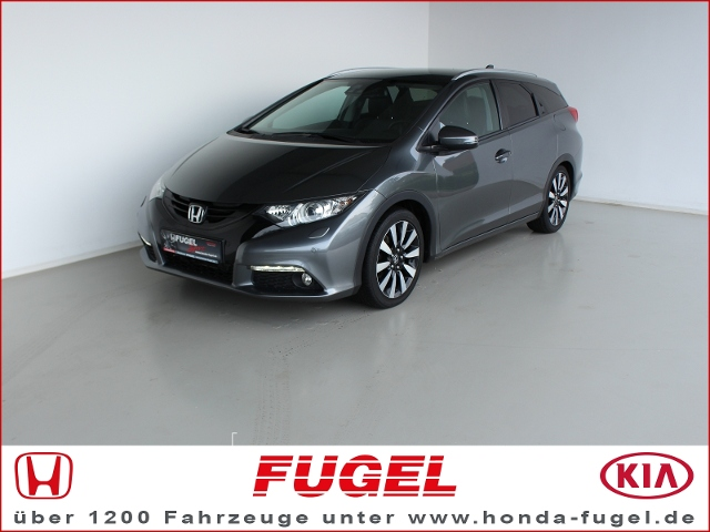 Honda Civic Tourer 1.8i-VTEC Executive Bi-Xen.|Leder