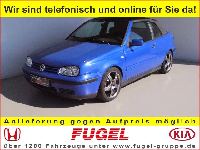 VW Golf Cabriloet 1.6 Trendline Klima|el.Verdeck