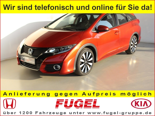 Honda Civic Tourer 1.8 i-VTEC Elegance AT|FAP|SHZ