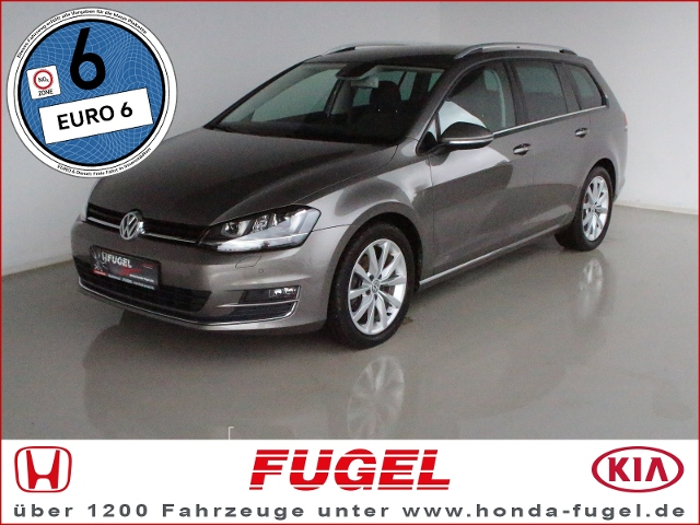 VW Golf Variant 2.0 TDI Highline Xen.|StHz|R-Line