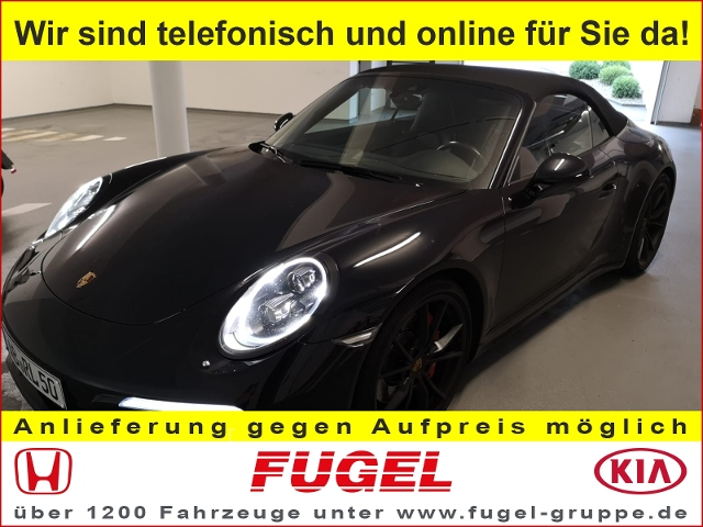 Porsche 911 Carrera 4S Cabriolet Allrad LED|Navi|Leder