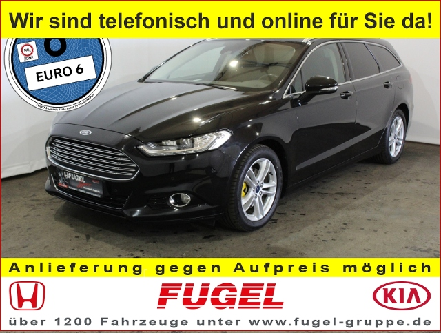 Ford Mondeo Turnier 2.0 TDCI Titanium AT LED|Navi|Winter
