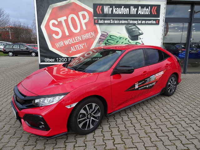 Honda Civic 1.0 i-VTEC Turbo Dynamic Navi|Leder|Spoil.