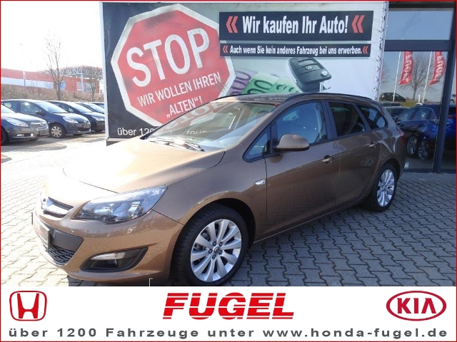 Opel Astra J Sports Tourer 1.4 T Style PDC|SHZ