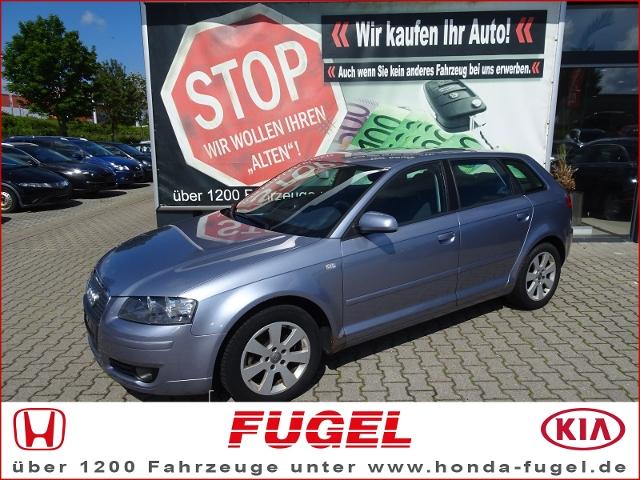 Audi A3 Sportback 1.6 FSI Attraction Klimaaut.
