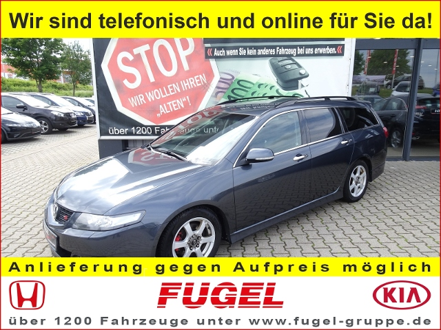 Honda Accord Tourer 2.4 VTEC Type S Xenon|Klimaaut,