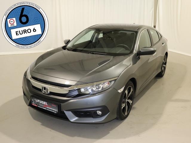 Honda Civic 1.6 i-DTEC Elegance Navi|SHZ|RFK