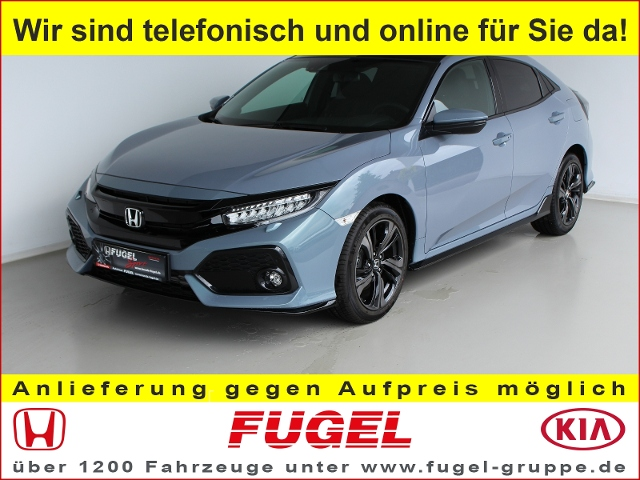 Honda Civic 1.5 i-VTEC Turbo Sport Plus Pano|LED|Navi