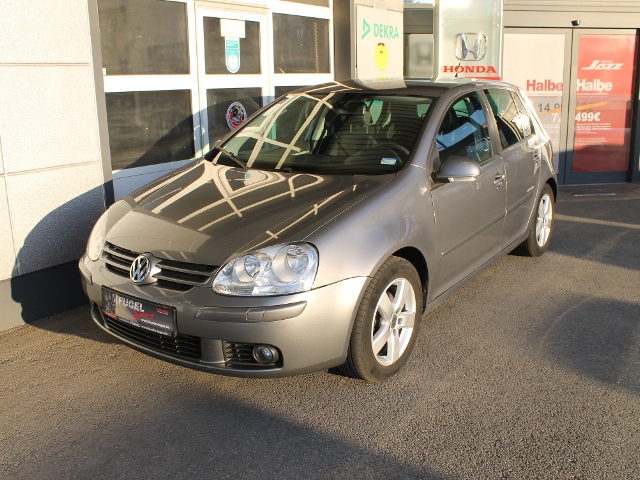 VW Golf V 1.6 TDI United Klimaaut.|Temp.