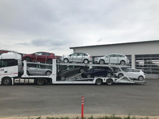 ANDERE Autotransporter für bis zu 7 Fahrzeuge EBS|BPW