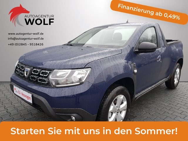 Dacia Duster Pickup 4WD blue dCi 115