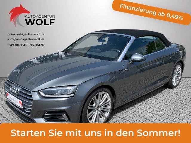 Audi A5 Cabriolet 2.0 TFSI S-Line LED,Navi,Kamera